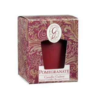 Boxed Votives Pomegranate